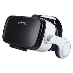LUPHIE 3D VRゴーグル スマホ VR BOX 3D眼鏡 VRメガネ 3D ヴァーチャルリアリティ 頭部装着 超3D映像効果 仮想現実box アプリ対応iphone7/7 Plus iphone6/6s iphone6s plus Xperia Galaxy等多機種対応