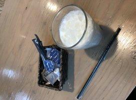 アイスミルクでエンジン注入ダァ!久々に牛乳🥛飲むなん…