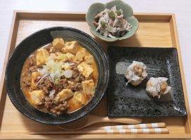 今日の夜ご飯は麻婆豆腐です😘😘ヘルシーに...(…