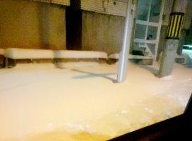 2、3日前から雪が…(。>д<)さむーい…(´・ω・`)冷えた体を…