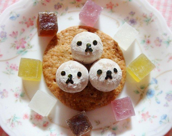 みなさん、こんばんわぁです♪ちょっとお菓子で遊んでみました&#…