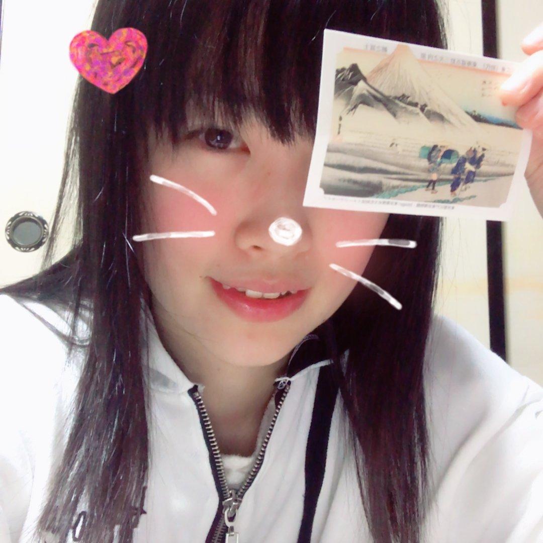 久々の顔だしツイート!!手に持ってるのは、永谷園の東海道五…
