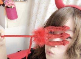ハッピーハロウィーン☆☆この衣装凄く可愛い!悪魔ちゃん??何…