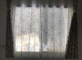 今日わカーテンを買いに家具屋さんへww可愛い遮光カーテン買い…