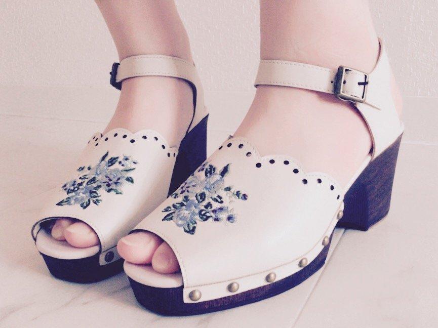 今日も暖かい〜(*´ω`*)新しい靴も買ったし気分るんるん♪