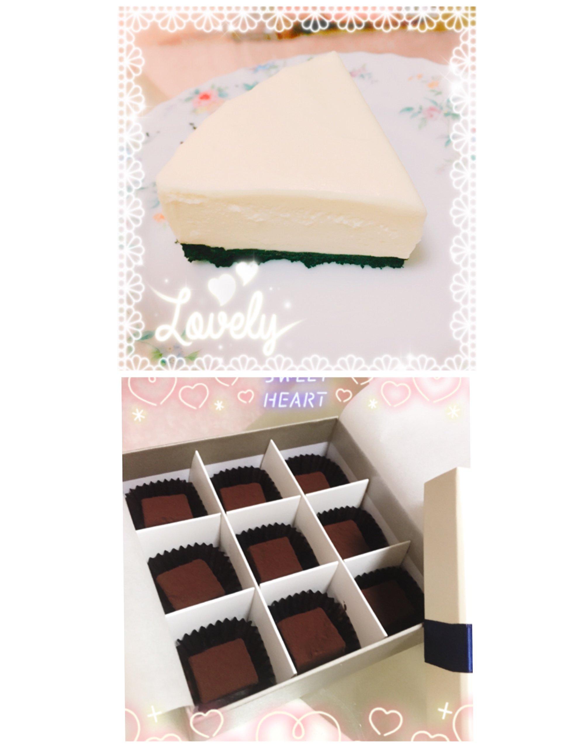 今日はバレンタインですね♪今年も、家族に手作りチョコとケーキ…