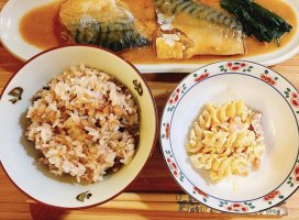 今日の晩ご飯は和食でした^_^あしたもコロナの影響でおやすみ。…