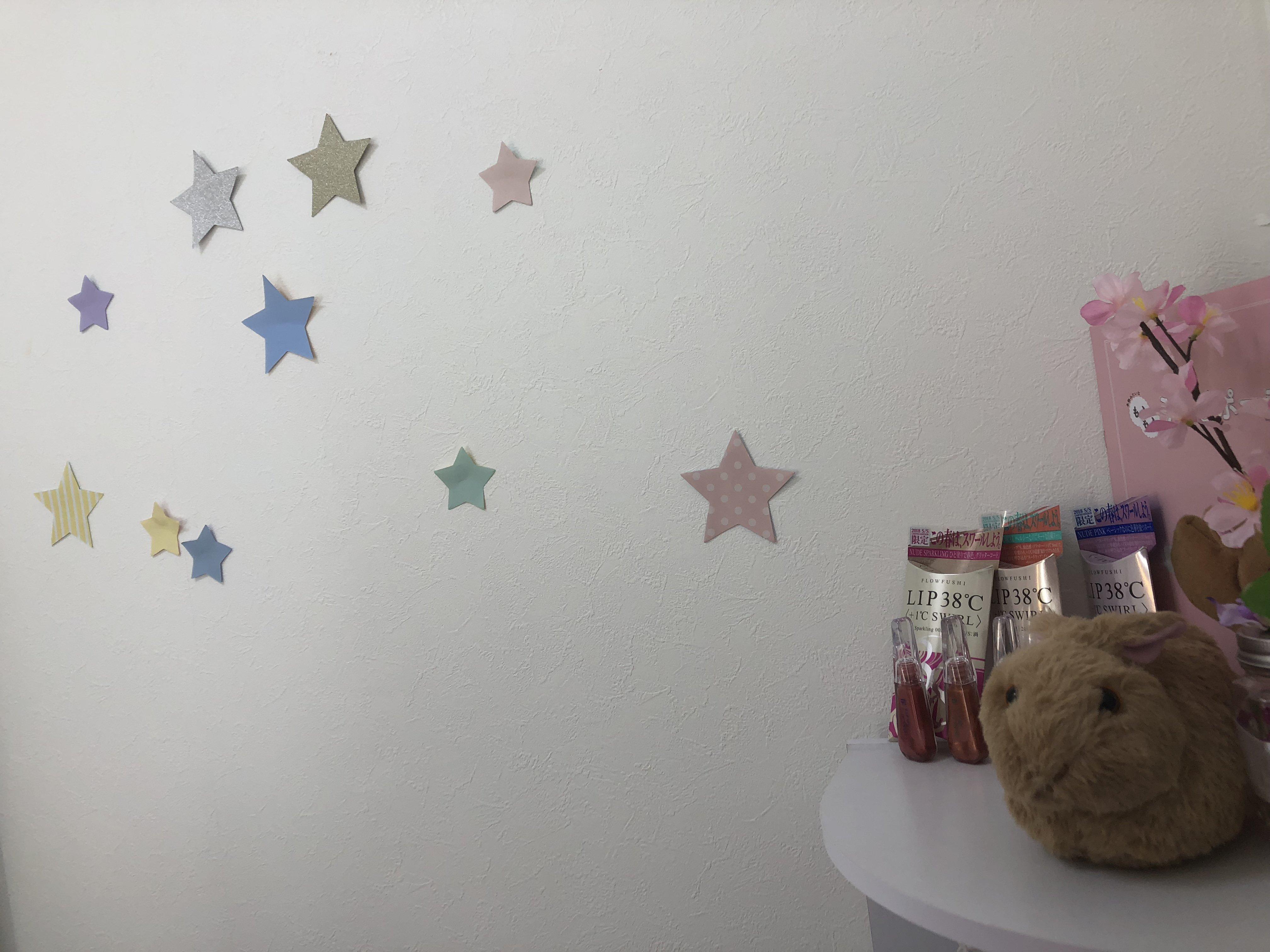 こんにちは(^^)私の部屋に仲間と飾りか増えました💖うさ…