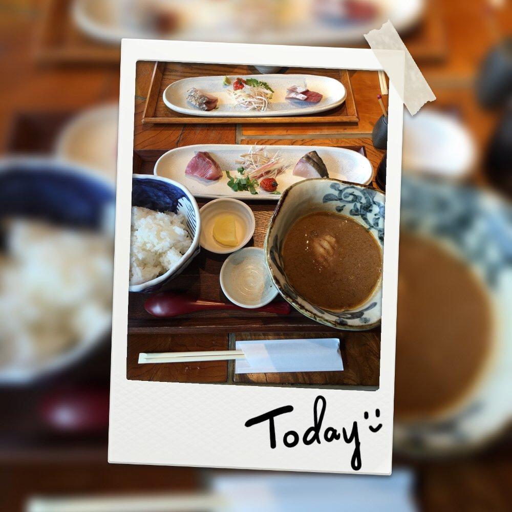 朝から定食を食べて来ました♪美味しかったです(*´꒳`*)美…