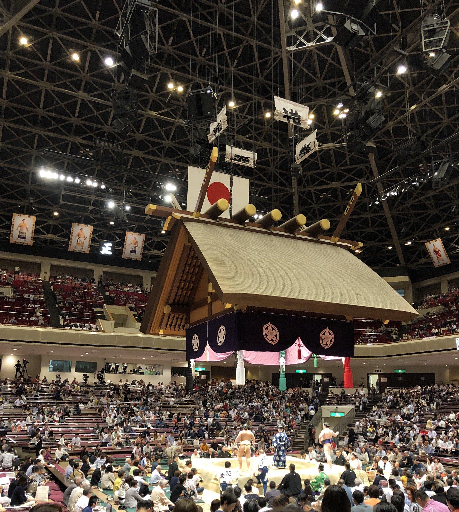 今日はお誘い頂いて両国国技館にお相撲を見に連れてきていただ…