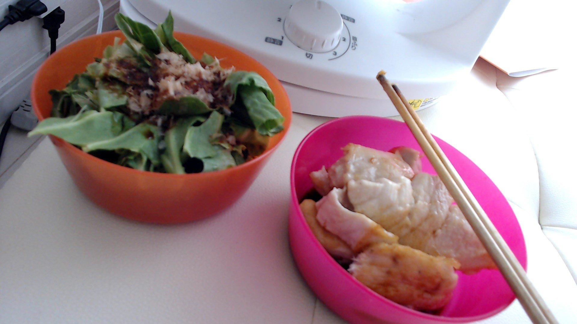 今日のご飯です(*´ω`*)