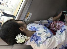 そういえば友達がバスで撮ってくれてたやつ〜かわいいアレンジ…