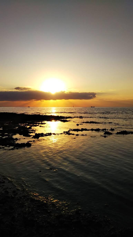 朝日が綺麗と聞いて。。☀最終日の今日は頑張って早起きし…