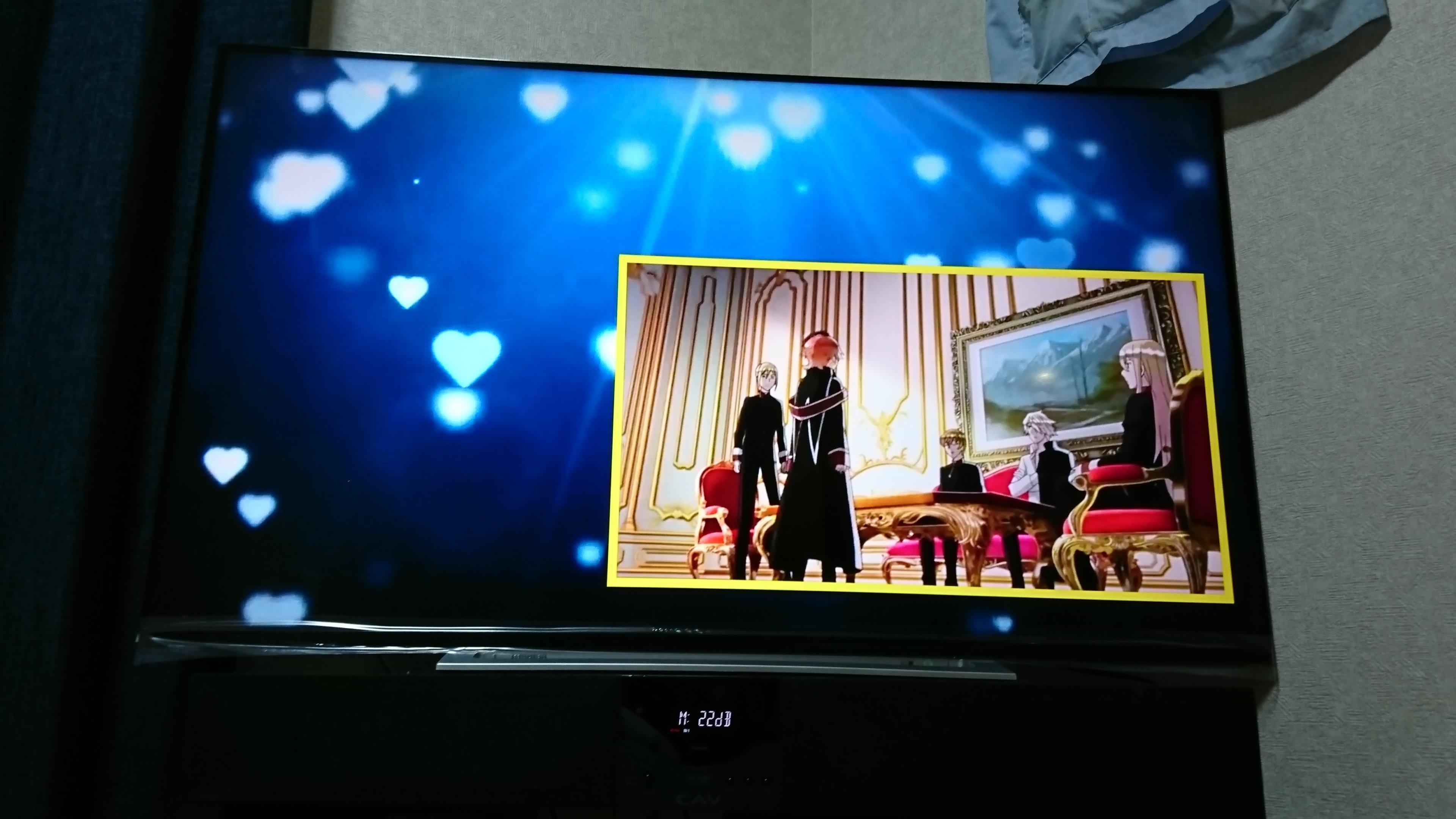 テレビ買いました(^-^)/テレビでYouTube見れるとか最高です!!…