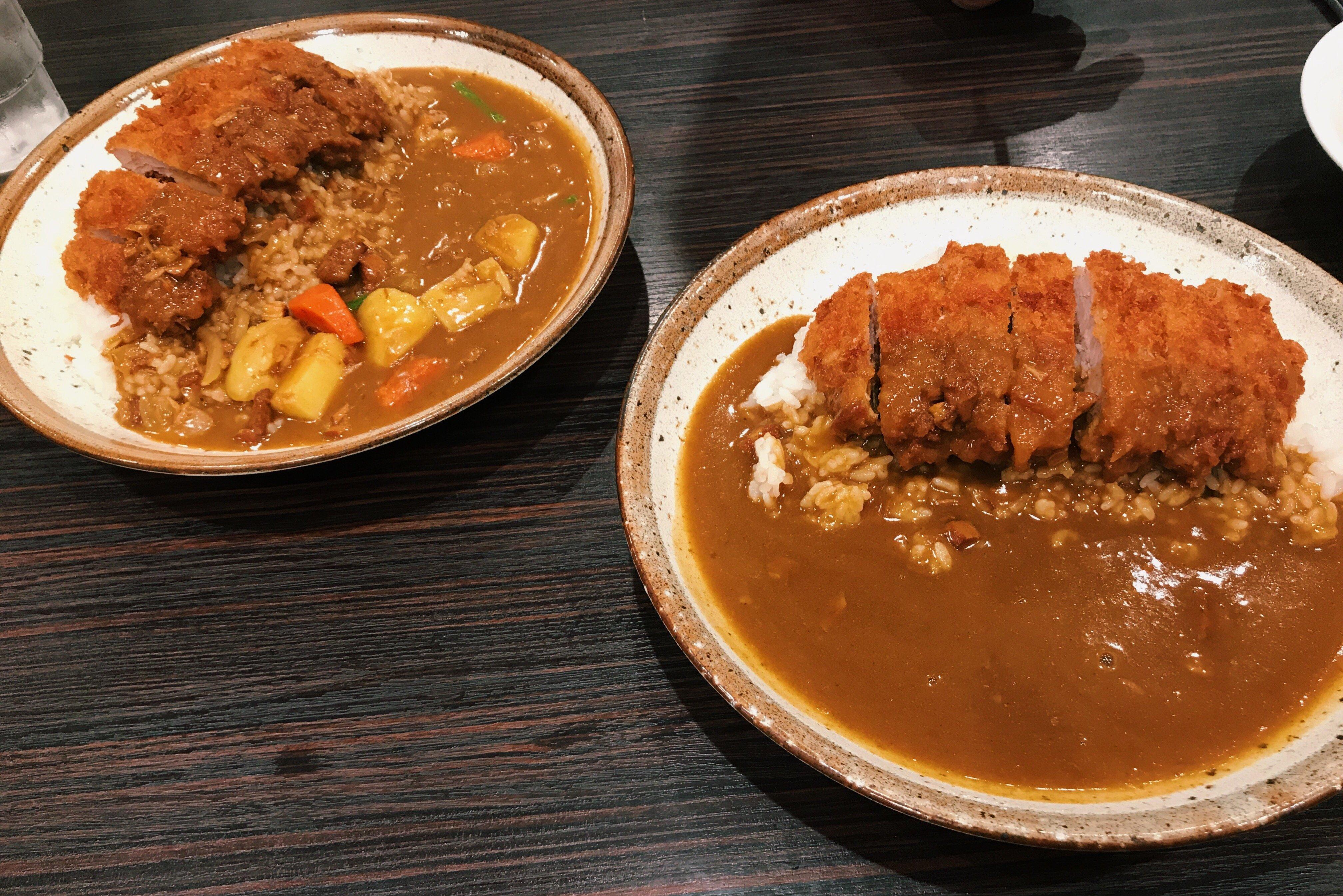今日の晩御飯はお父さんとココイチのカレー(*´ω`*)♡