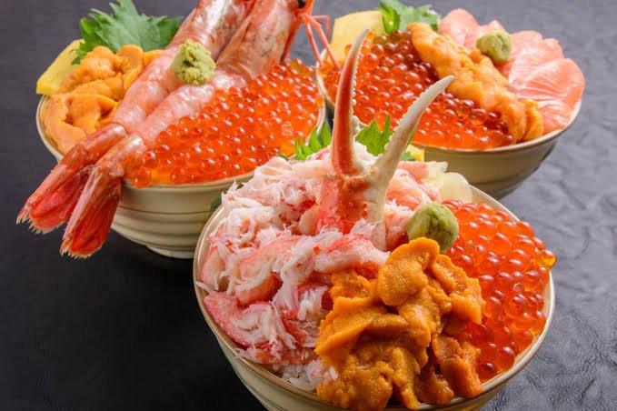 明日から北海道へ飛び立ちます❣❣海鮮いっぱい美…