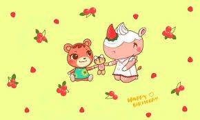 誕生日おめでとう(*´ω`*)パティとアセロラ