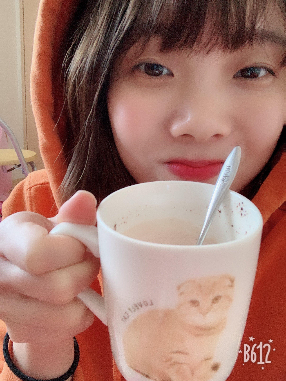 寒いこんな時はココアを飲みます!^_^