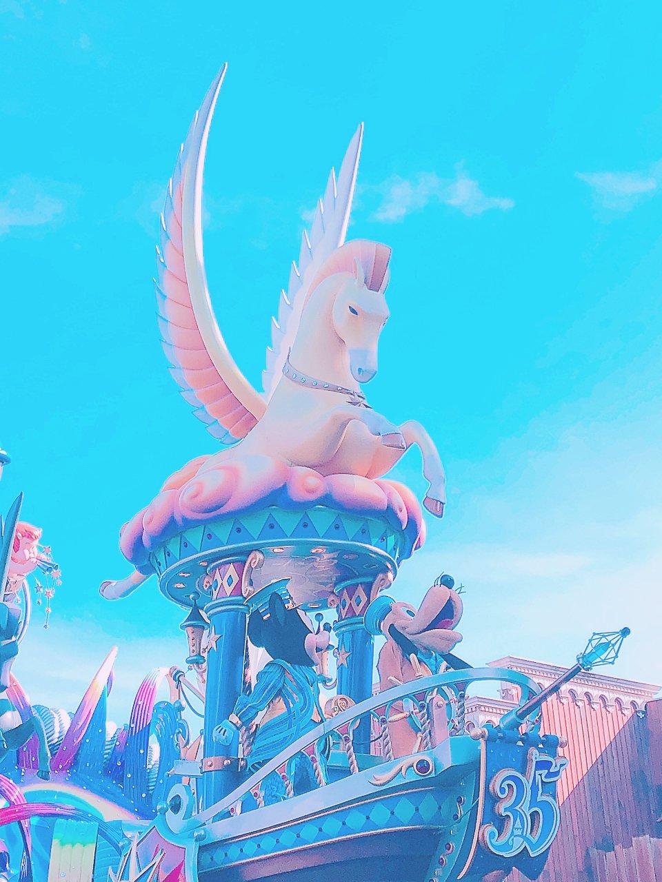 昨日は本当に楽しかった〜❤やっぱりあの夢と魔法の王国…