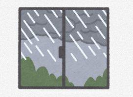 こんばんはー😣ごめんなさい💦雨☂と雷b…