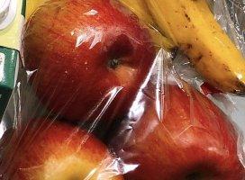 こんばんは!シロです!今日はねー、奮発してりんご買っちゃっ…