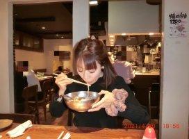 わたしと冷麺^^