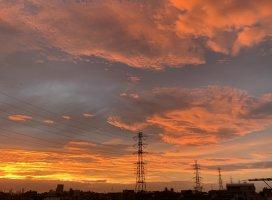 朝方6時台の風景(*´ー`*)綺麗だったから、ついまた撮っちゃっ…
