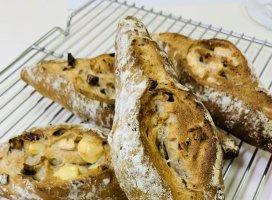 こんばんわ´ ³`°) ♬*.:*今日は、お料理教室でパンこ…