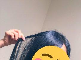 髪の毛染めました!!!初めて挑戦したカラーなのでどきどきし…