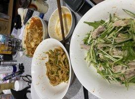 中華中華〜❤昨日作りました、食べかけだけど笑バーンバ…