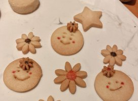 可愛いクッキーできた(//∇//)