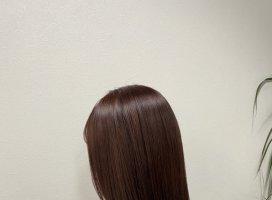 髪質改善してきたあ❤︎とぅるとぅるの髪の毛…触っ…