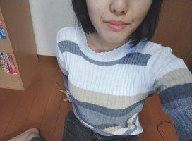 やっぱ……小さい服の上からがこんな感じなった巨乳……