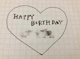 昨日誕生日の人いたから即席で書いた(∩ˊ꒳&#…