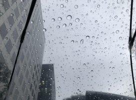 土砂降りでびっくりした:;(∩´﹏`∩);:思わず声出ちゃった…